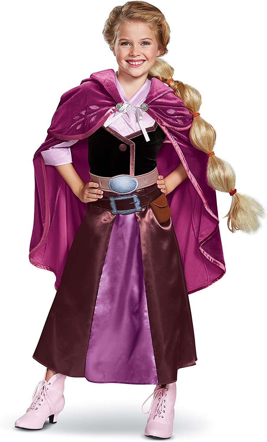 Tangled The Series Season 2 Deluxe Rapunzel Travel Outfit Costume for Toddlers