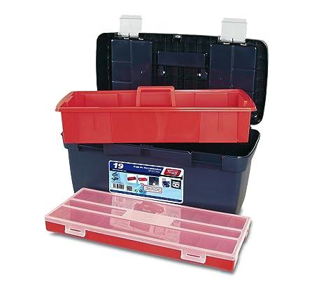 Tayg 19 Caja herramientas plástico n.19, 580 x 290 x 290 mm