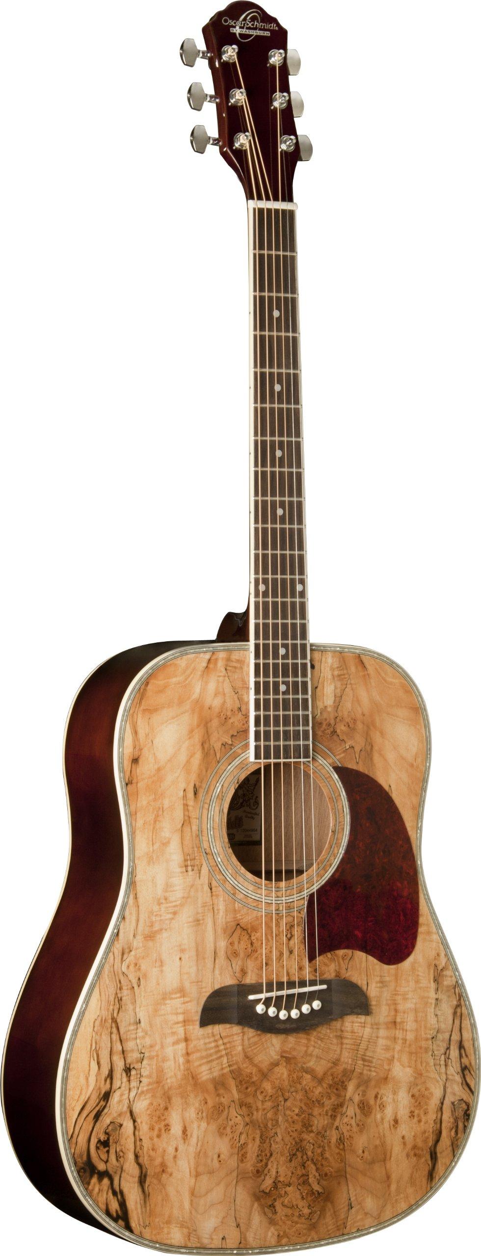 Oscar Schmidt OG2SM   Acoustic Guitar - Spalted Maple by Oscar Schmidt