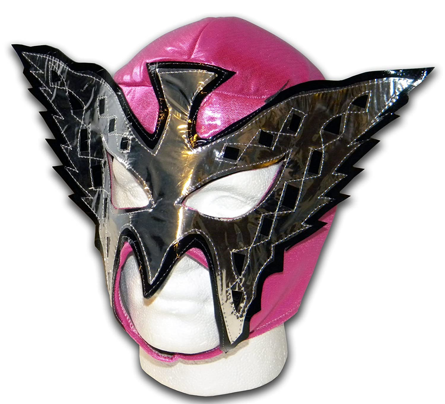 Pink Butterfly Wrestling Lucha Libre Mexican mask by Luchadora QP-LX0W-239P