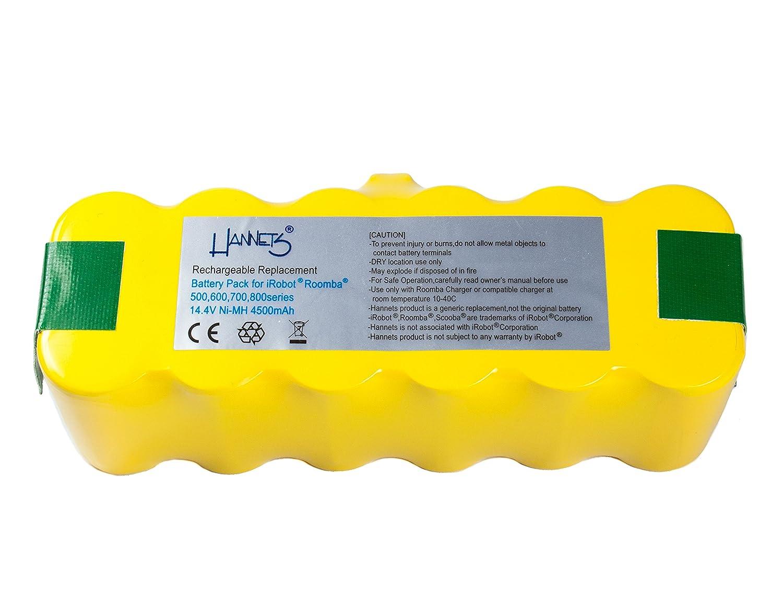 Batería Hannets® compatible con iRobot Roomba 775 I Batería i ...