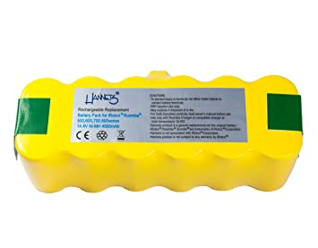Batería Hannets® compatible con iRobot Roomba 531 I Batería i-Robot Batería Roomba Batería Aspiradora robotizada I Roomba 531 Accesorios 4500mAh ...