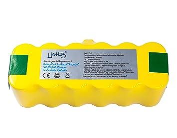 Batería Hannets® compatible con iRobot Roomba 531 I Batería i-Robot Batería Roomba Batería
