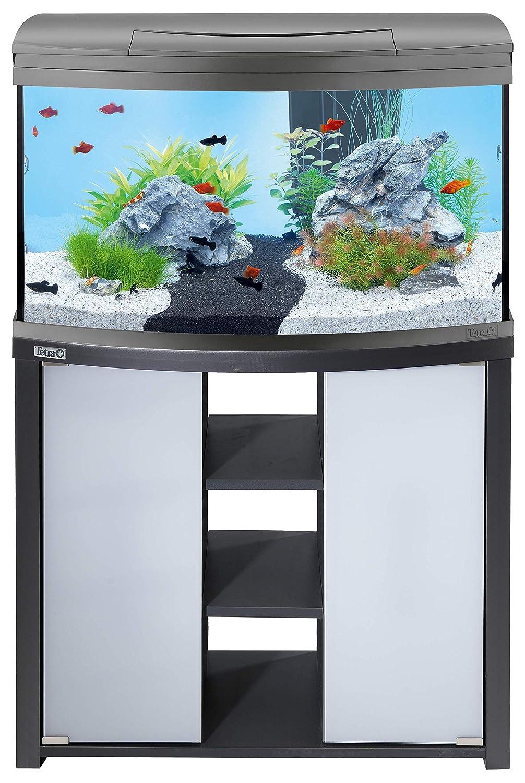 Tetra AquaArt Aquarienunterschrank 100/130L Anthracite 100 L / 130 L anthr.: Amazon.es: Productos para mascotas