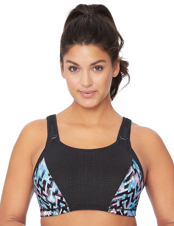 Glamorise Womens Full Figure Elite Performance Adjustable Wonderwire Sports Bra #9167