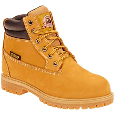 3859aec3140 Brahma Men's Hubert Work Boots Waterproof Heavy Weight Construction and  Sturdy Outsole Size 11 Brown
