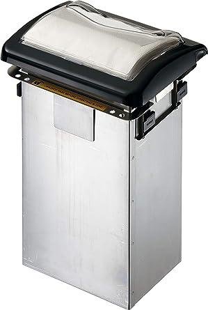 San Jamar h2005clbk dispensador de servilletas, diseño de lugar para mostrador, Full Fold,