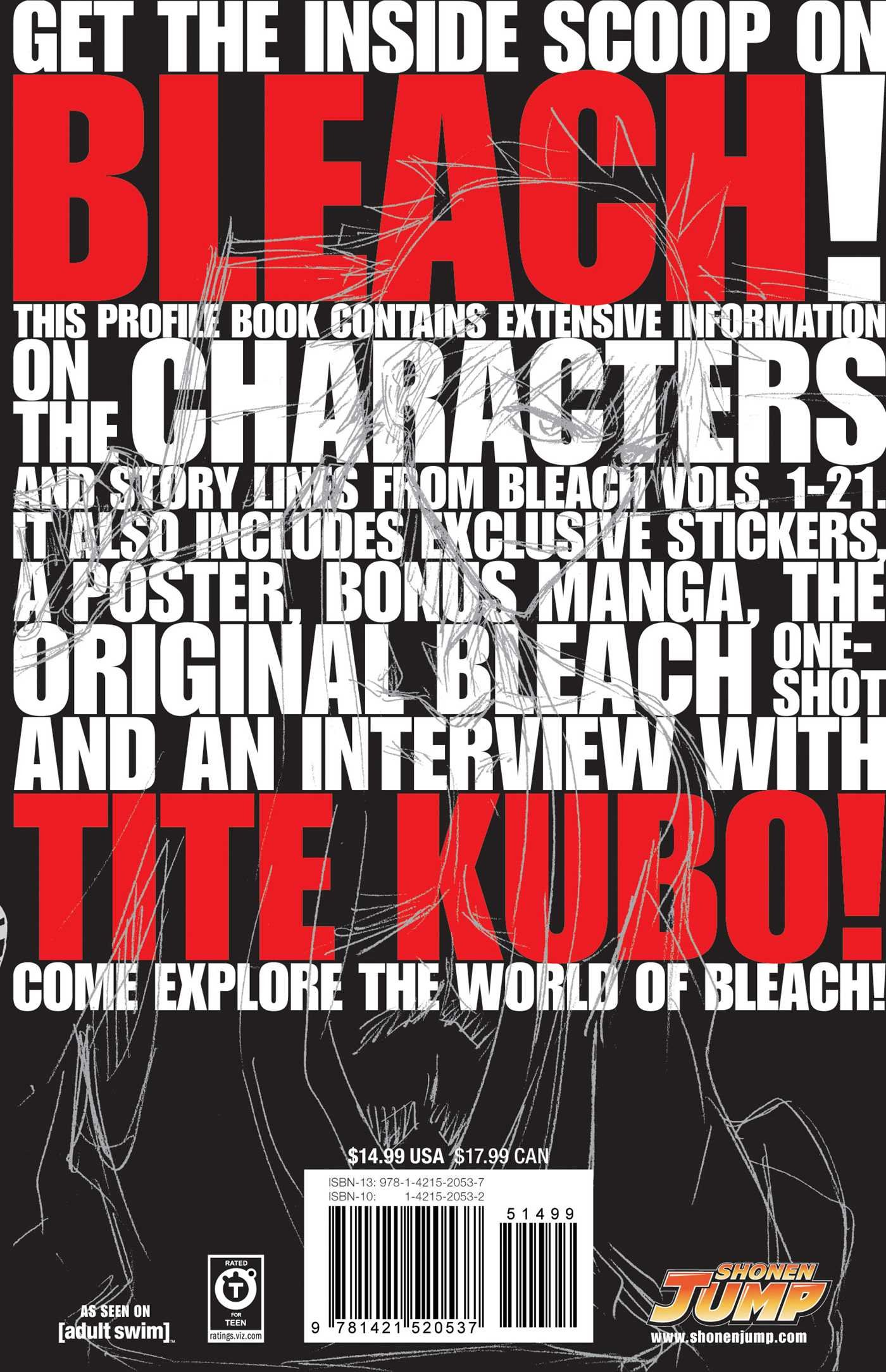 Amazon.com: Bleach SOULs. Official Character Book (9781421520537): Tite  Kubo: Books
