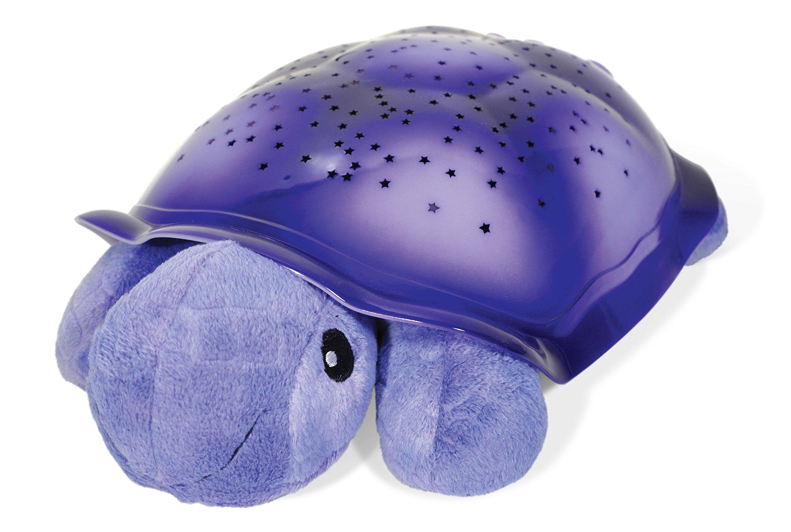 Cloud b Twilight Turtle Purple Plush Nightlight Projector