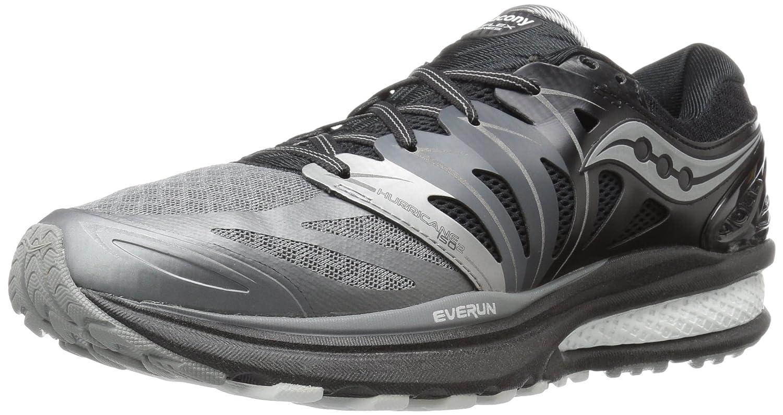 Saucony Men's Hurricane Iso 2 Refl Running Shoe B018F29L7M 11.5 D(M) US|Black/Grey