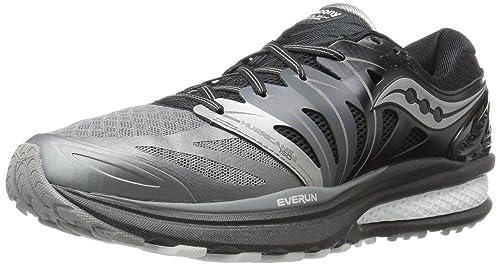 Saucony S20333-1, Zapatillas de Running para Hombre, (Gris/Blanco/Negro), 46 EU: Amazon.es: Zapatos y complementos