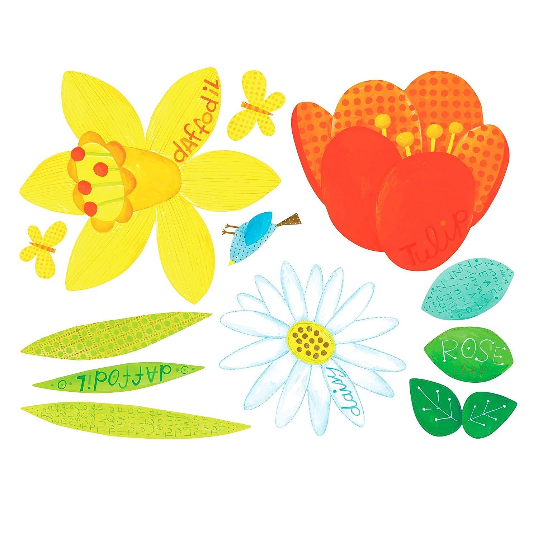 Wallies W13537 Blumengarten (WallPlay)