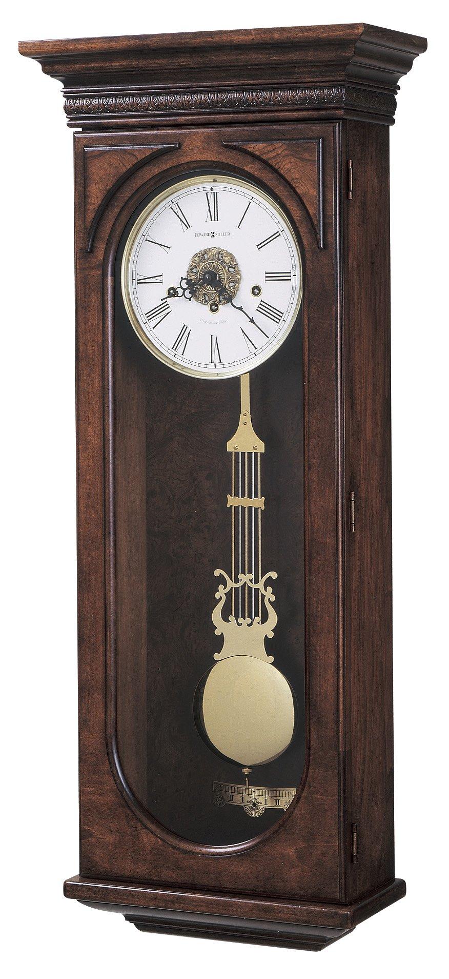 Howard Miller 620-433 Earnest Wall Clock by by Howard Miller