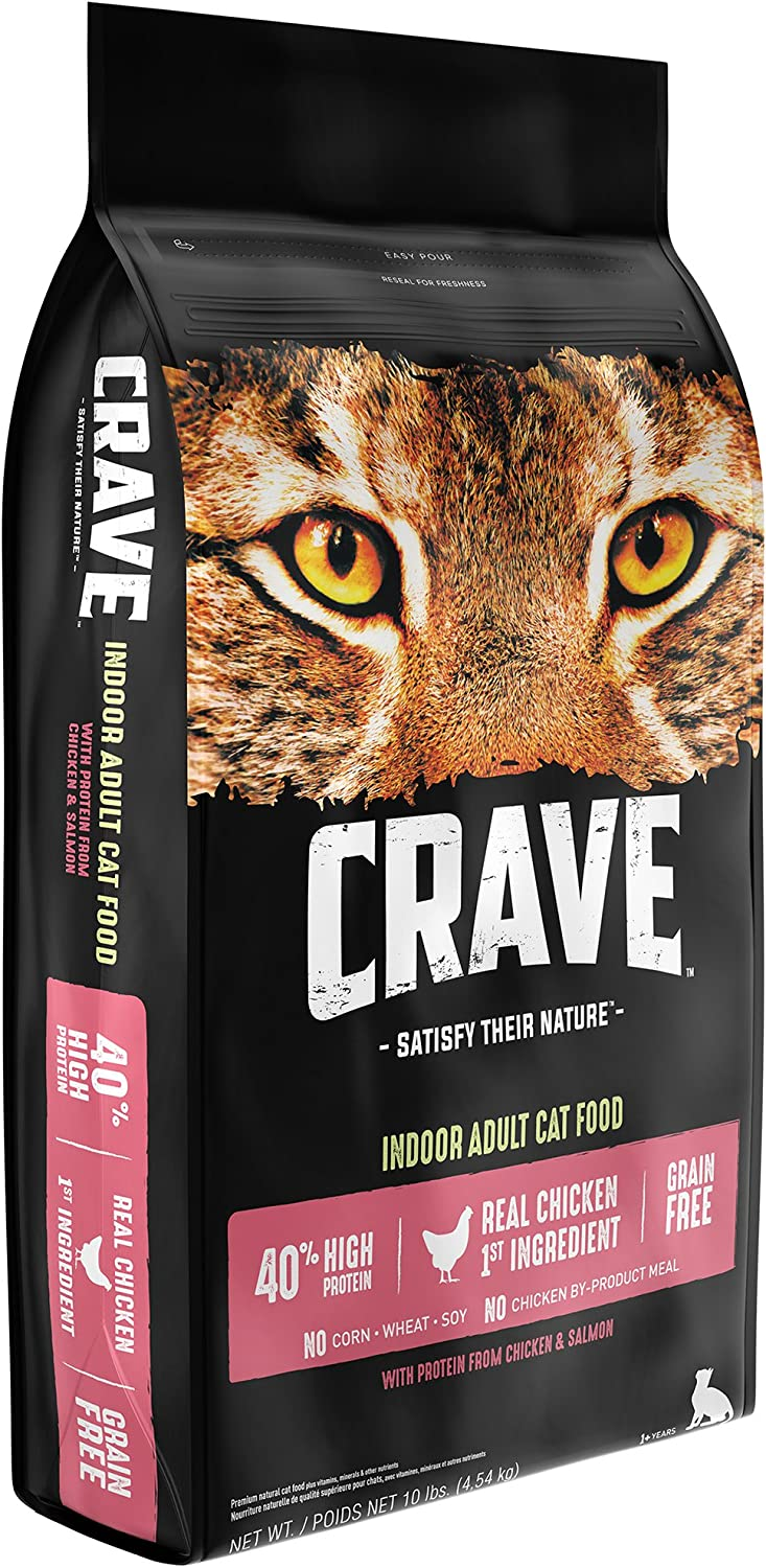 CRAVE Grain Free High Protein Dry Cat Food Image