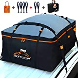 RoofPax Car Roof Bag & Rooftop Cargo Carrier. 19 Cubic Feet. 100% Waterproof Excellent Military Quality Car Top Carrier…