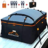 RoofPax Car Roof Bag & Rooftop Cargo Carrier – 15 Cubic Feet Heavy Duty Bag, 100% Waterproof Excellent Military Quality…