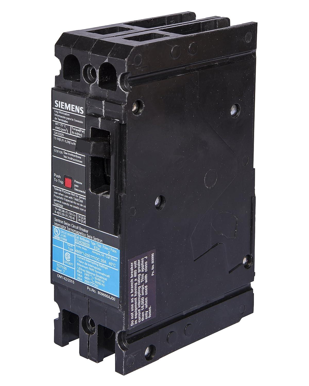 80 Amp 2 Pole Siemens -HI Type HED4 Siemens HED42B080 Circuit Breaker