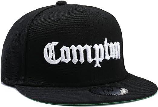 Straight Outta Compton plana pico Snapback/sábana bajera ajustable ...