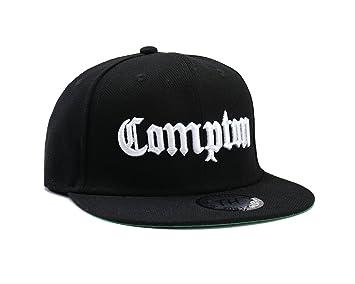 Casquettes de Baseball Réglable Noir Compton (Black Snapback ... b667ef422087