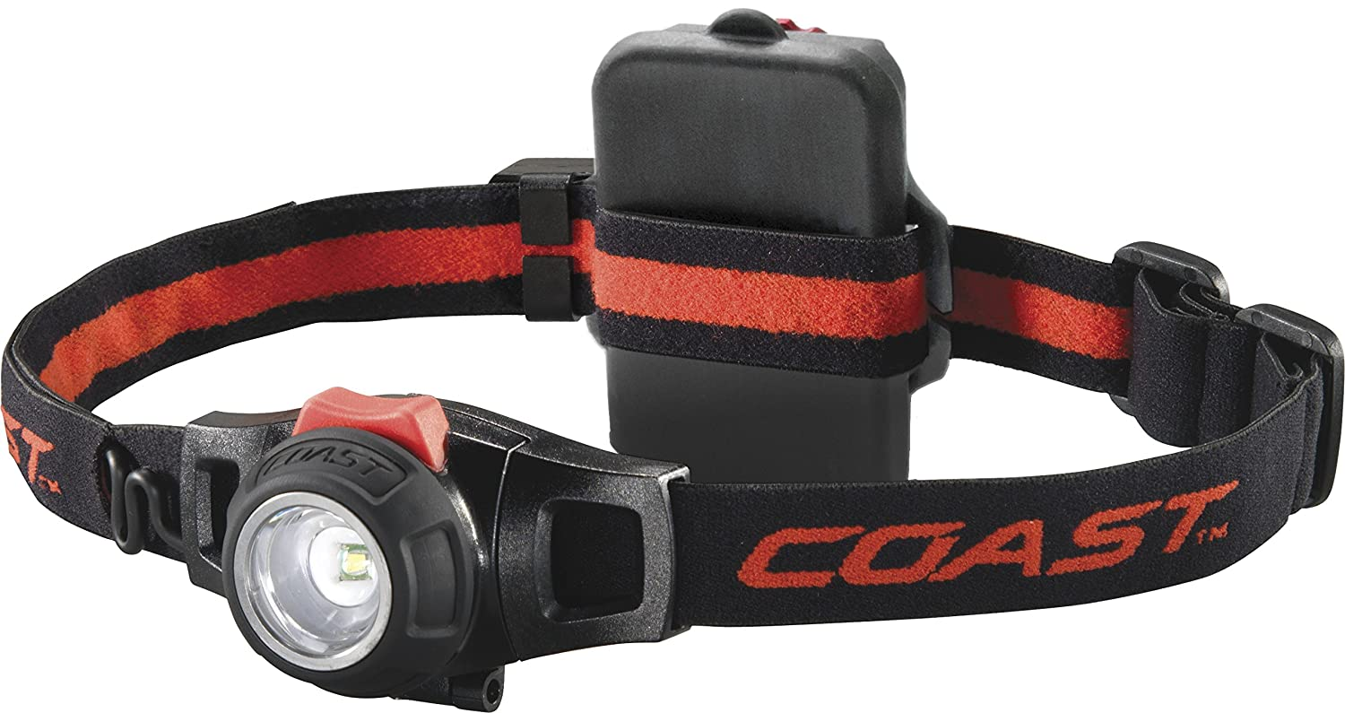Coast HL7 Focusing and Dimmable Head Torch - Black, 125 g