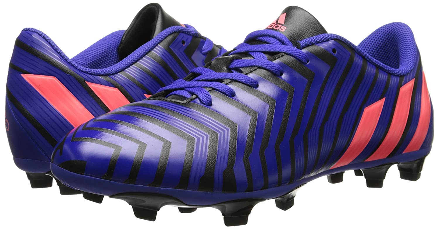 5faffd36613 adidas Performance Womens Predito Instinct Firm-Ground W Soccer Cleat  Black Flash Red Night Flash 5.5 ...