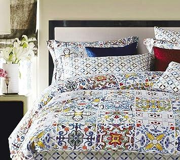 Luxus Bettbezug Vintage Portugiesisch Fliesen Azulejos Medaillon - Portugiesische fliesen azulejos