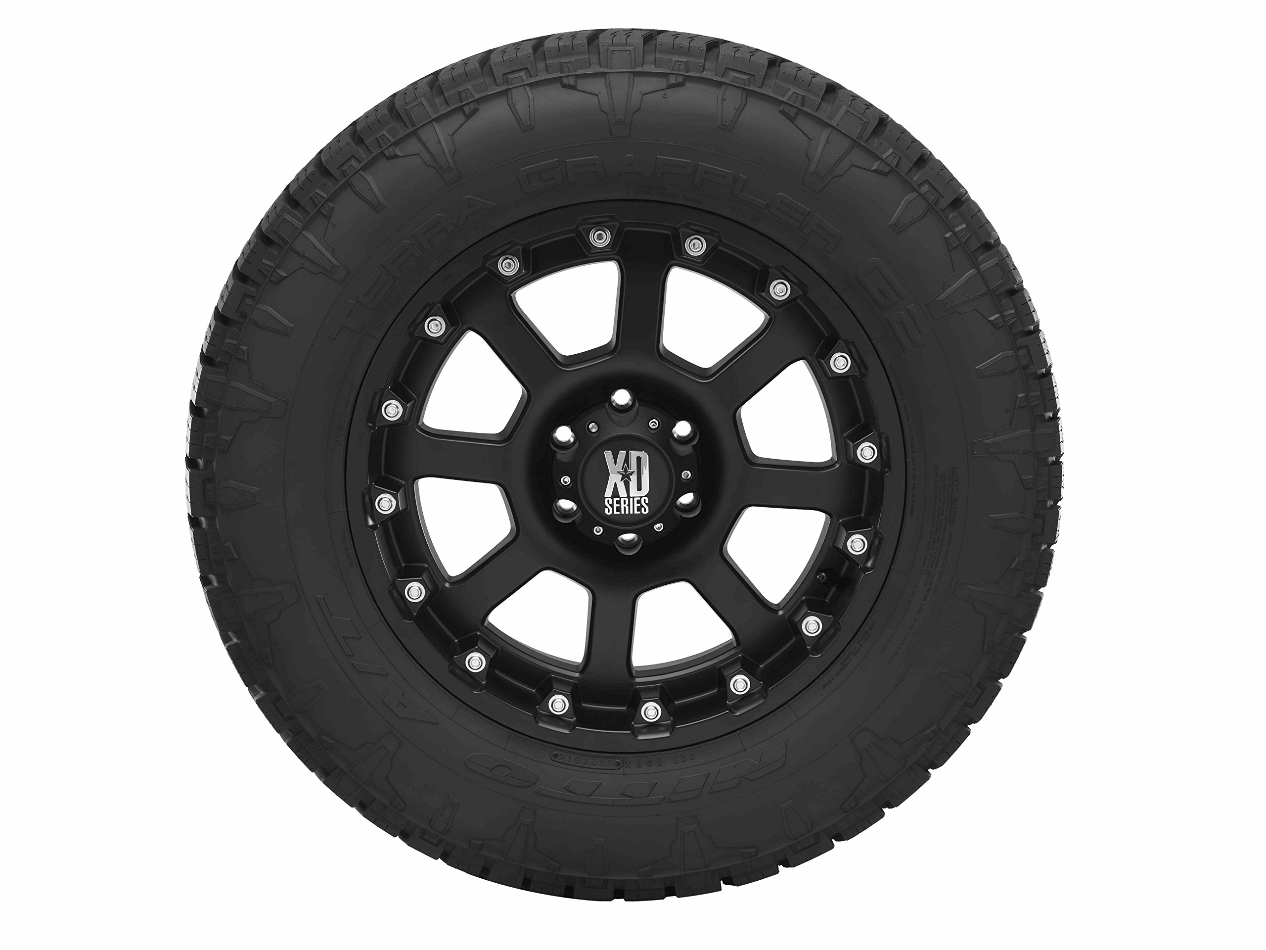 Nitto Terra Grappler G2 Traction Radial Tire - 275/55R20 117T by Nitto (Image #2)