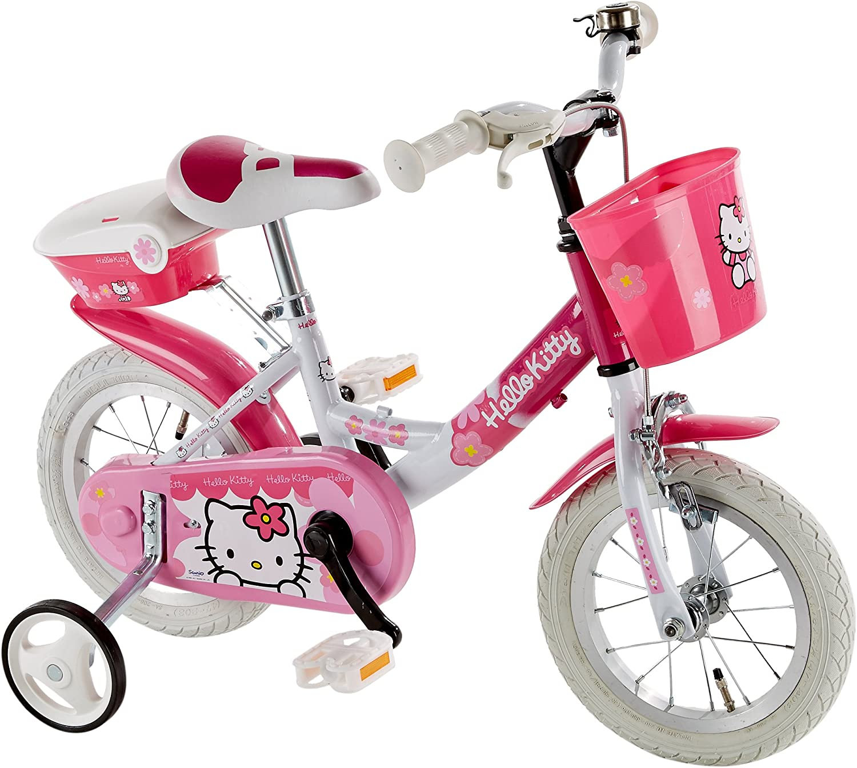 HELLO KITTY Bicicleta para niñas con Metal Bolas para niños ...