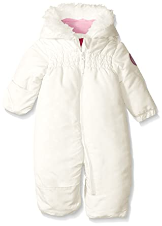 9a13132c9 Amazon.com  Weatherproof Baby Girls  Heart Print Hooded Pram