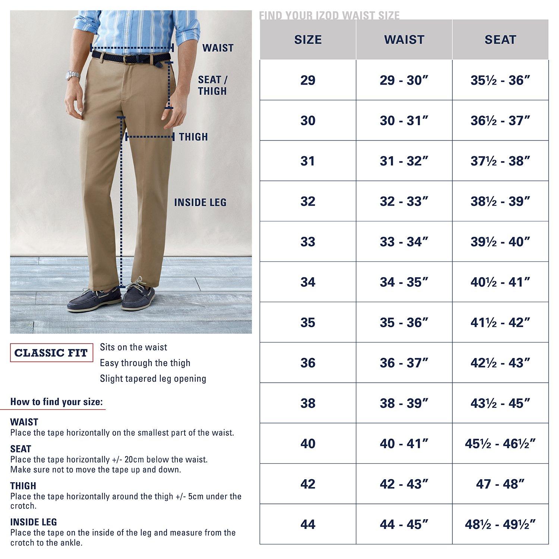 566324b2c9de9 Izod Men s American Chino Pleated Pant  Amazon.ca  Clothing   Accessories