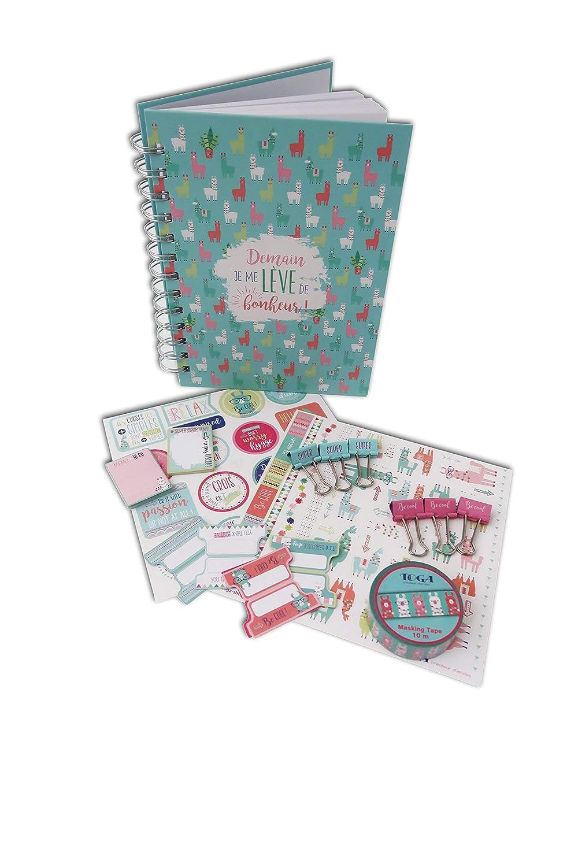 Toga KT76/Lama Kit de papeler/ía Cuaderno Lama Papel 23/x 25,5/x 3/cm