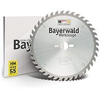 Bayerwald HM cirkulära sågblad, diameter: 254 mm x 2,8 mm x 30 mm, alternativ avfasning, kombinationshål för Bosch GTS…
