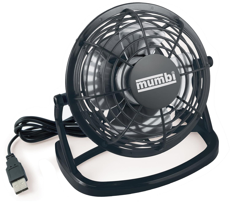mumbi usb ventilator mini f r den schreibtisch mit an aus. Black Bedroom Furniture Sets. Home Design Ideas