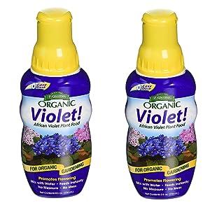 Espoma (VIPF8) Organic Violet Plant Food, 8 oz - 2 Pack