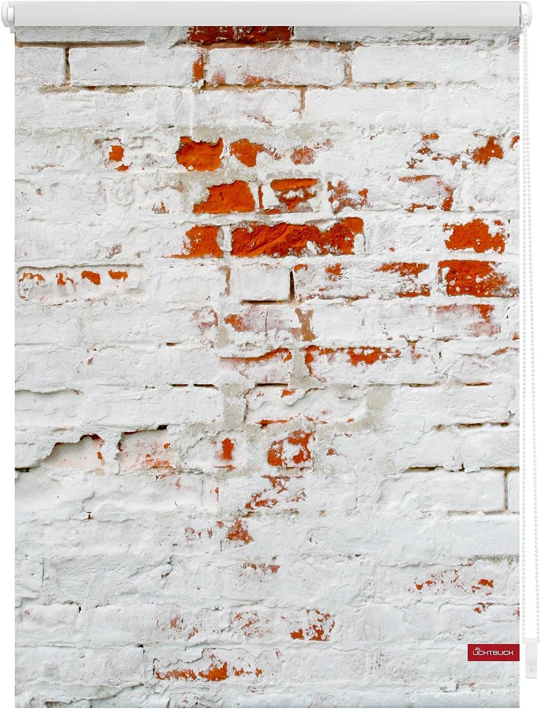 Gardinia EASYFIX Rollo Dekor 100 Scandinavian wei/ß//natur 45 x 150 cm
