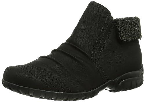 Rieker L4684 Damen Kurzschaft Stiefel