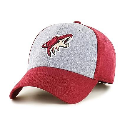quality design 138df 8dea2 OTS NHL Arizona Coyotes Men s Essential All-Star Adjustable Hat, Cardinal,  One Size