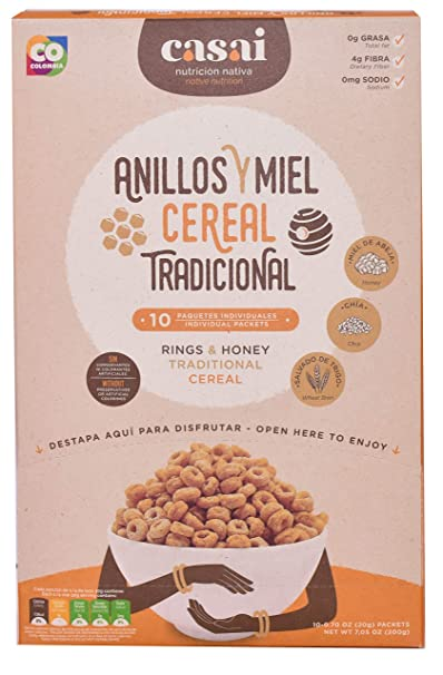 Amazon.com: Casai Native Nutrition Cereal (Coffee Fortifying Cereal):