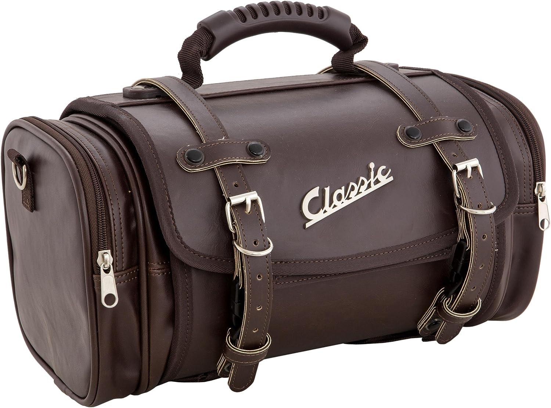 f/ür Vespa 360x210x30 mm braun f/ür Gep/äckfach//Handschuhfach Tasche SIP Classic Nylon