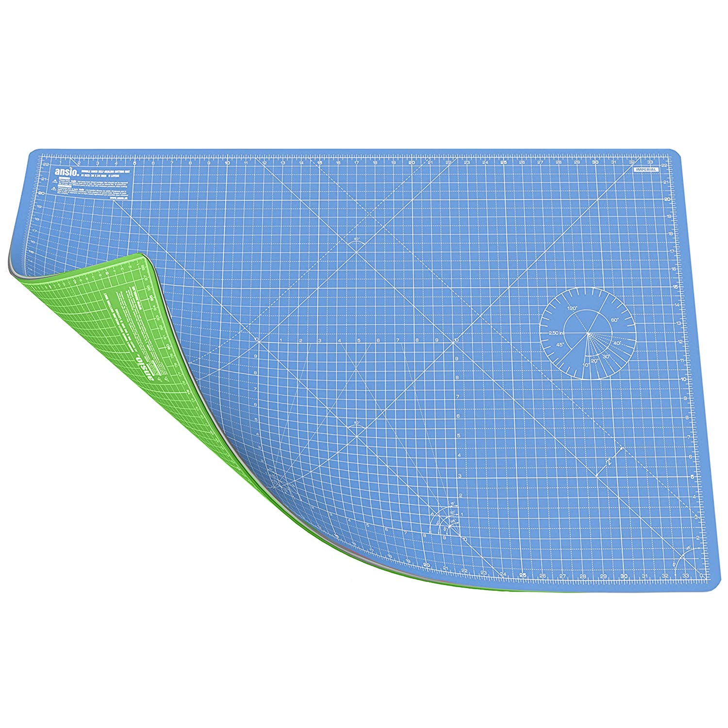 Fabric ANSIO Craft Cutting Mat Self Healing A1 Double Sided 5 Layers Quilting