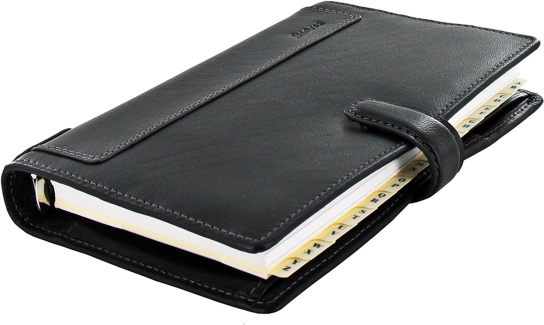 Filofax 025116/Agenda personale//organiser Holborn colore nero