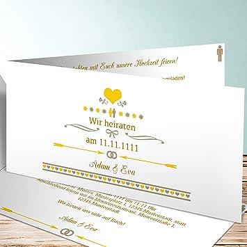 Hochzeitseinladung Selber Gestalten Torte 50 Karten Horizontale