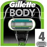 Gillette Testine di Ricambio per Rasoio, 1 Confezione da 4 pezzi