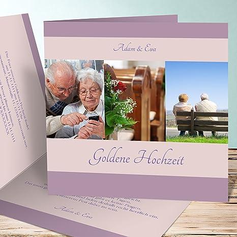 Einladungskarten Zur Goldenen Hochzeit Ja Ich Will 50