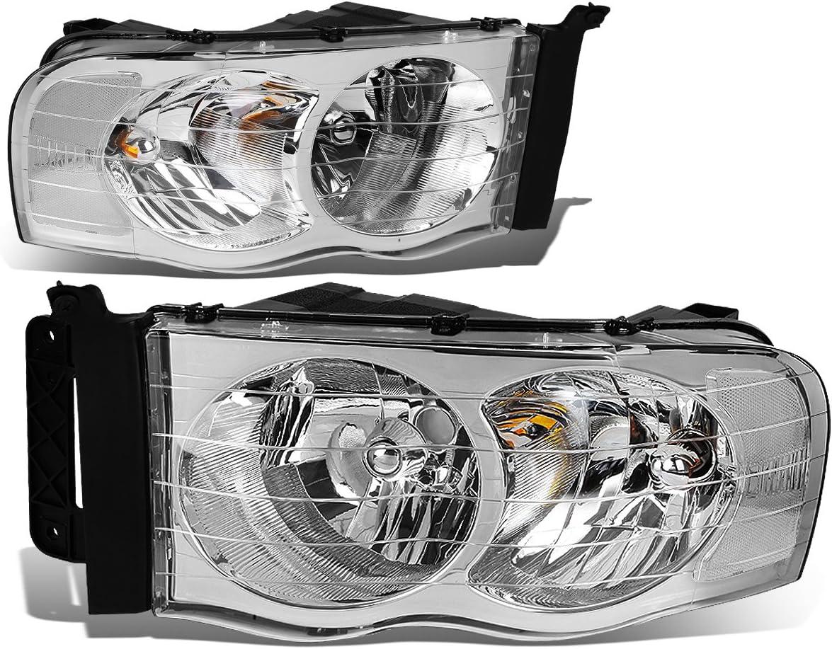 Driver /& Passenger Side DNA Motoring HL-OH-DR02-BK-CL1 Headlight Assembly