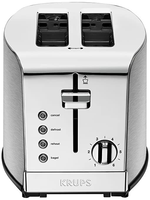 toaster stainless savoy krups brushed toasters home the slice p depot