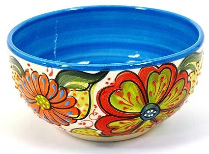 Art Escudellers BOL Nº2 cuenco/plato hondo en ceramica hecho y pintado a mano con