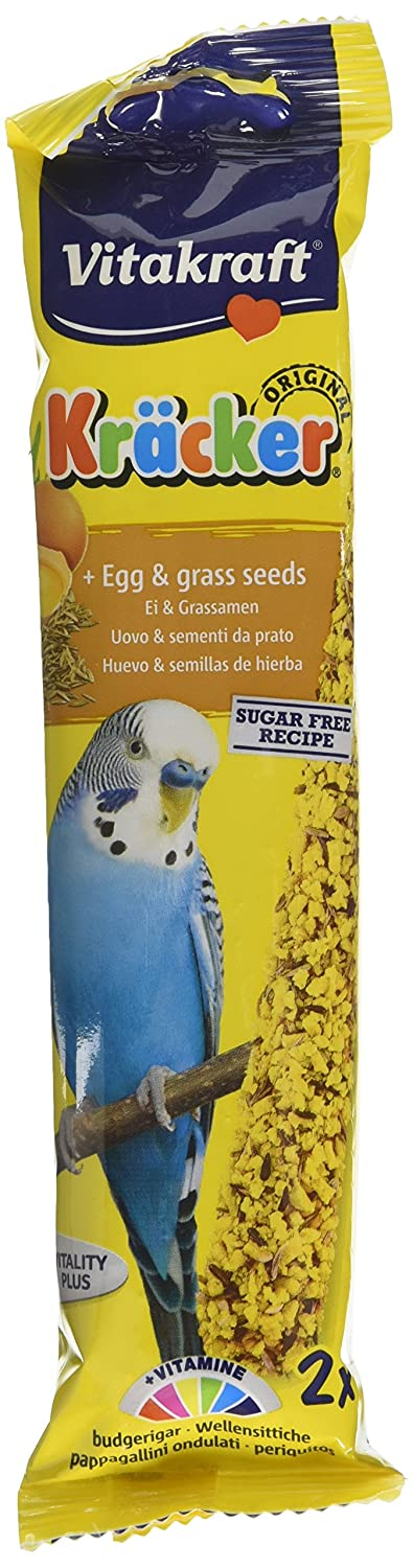 Vitakraft budgie kracker bird food egg grass seeds pack of 7 vitakraft budgie kracker bird food egg grass seeds pack of 7 amazon pet supplies forumfinder Gallery