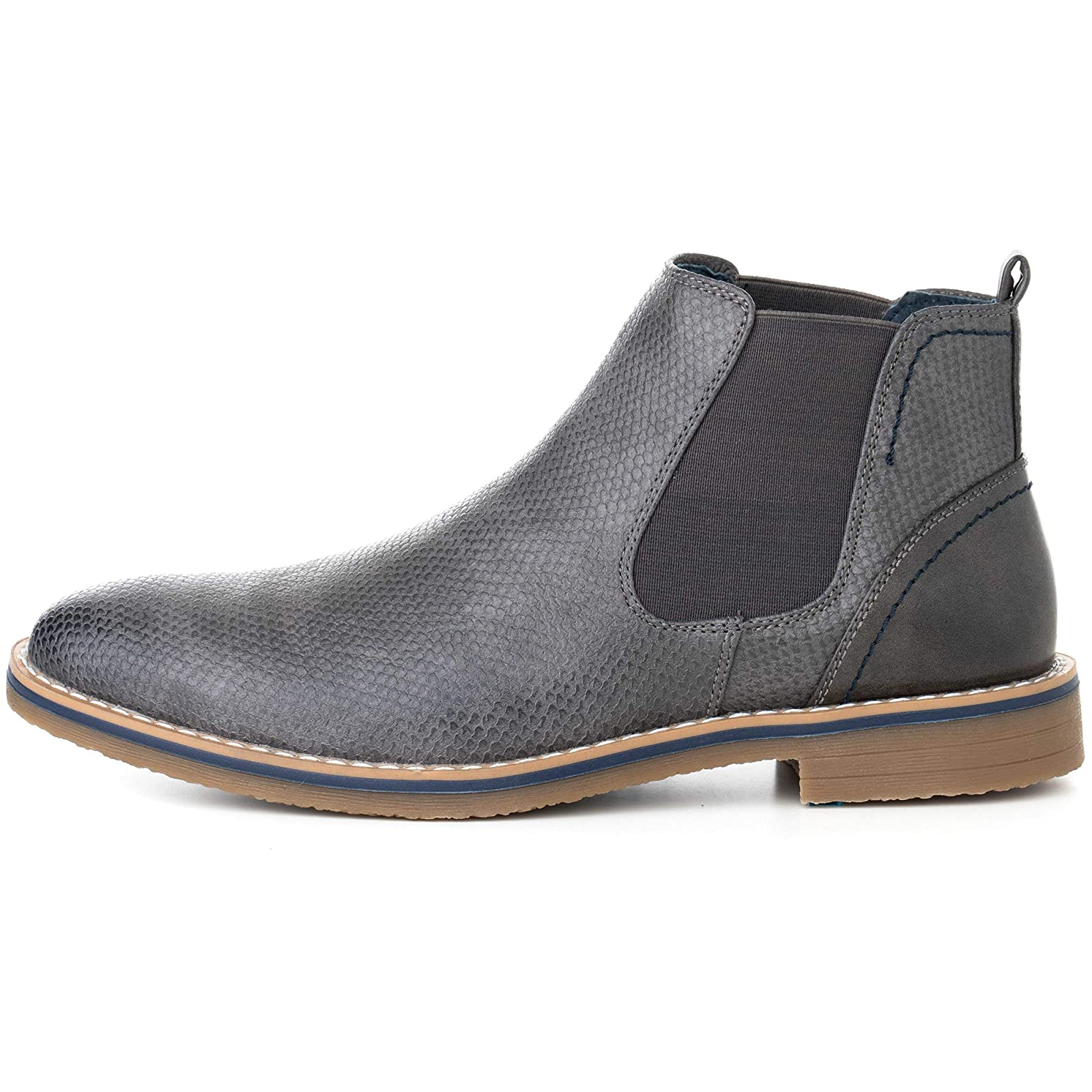 alpine swiss Men's Nash Chelsea Boots By Alpine Swiss - 4