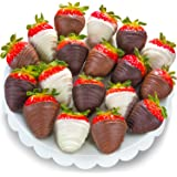 Golden State Fruit 18 Piece Chocolate Covered Strawberries, Berry Bites